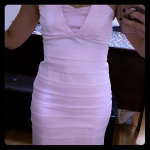 Baby pink dress. S